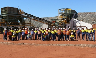 Sinclair Nickel project construction team