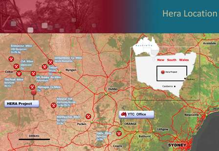 Hera Project Location