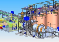 Higginsville Plant 3D drawing