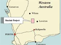 Sinclair Nickel Project Location