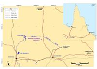 Roseby Copper Project Location Map