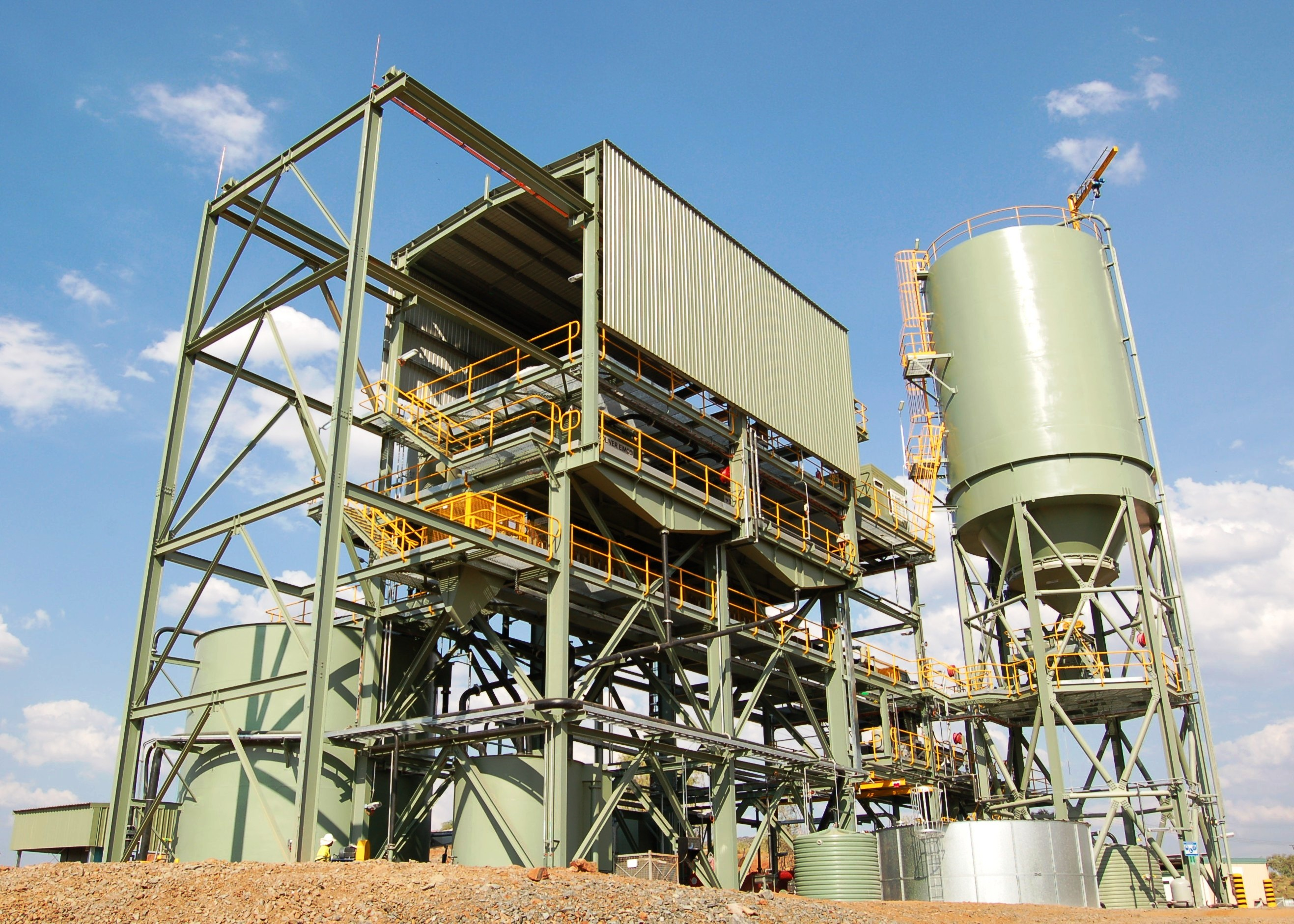 Savannah Paste Backfill Plant