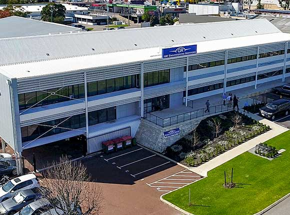 GR Engineering Perth Headquaters