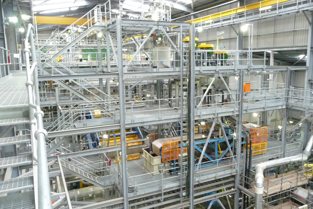 Hemerdon Plant and conveyor