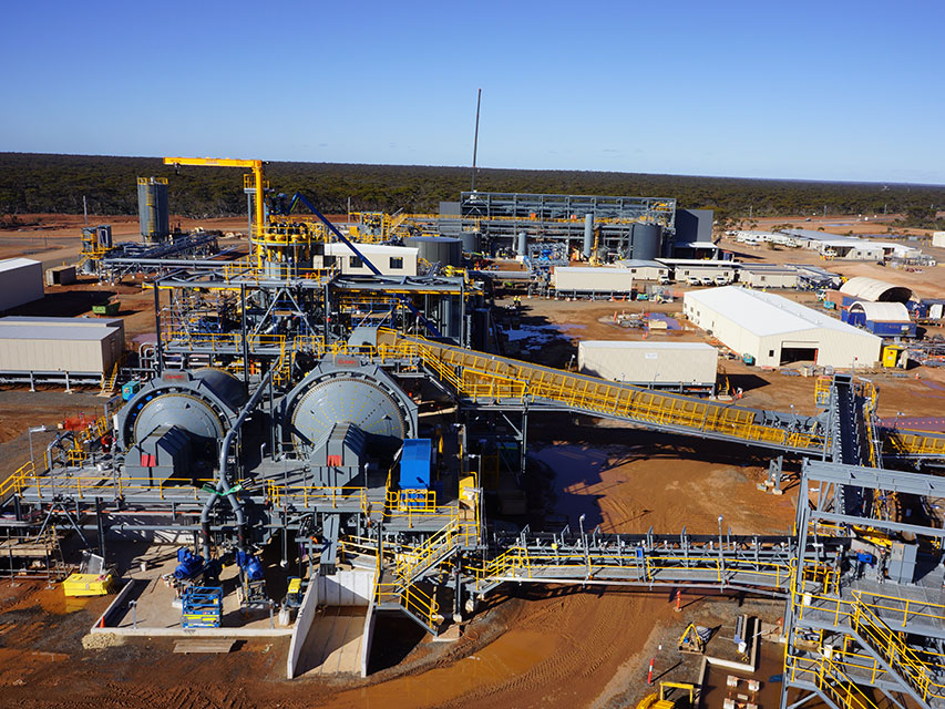Nova Nickel Processing Plant