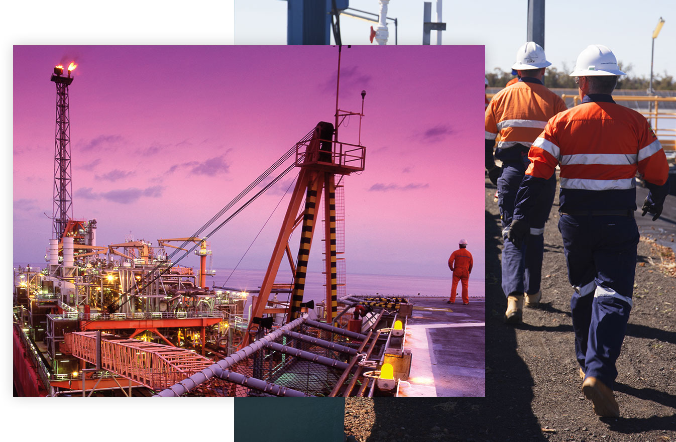 Offshore workers oil and gas industry