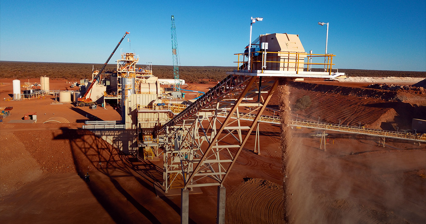 Dalgaranga Gold Project ore to stockpile